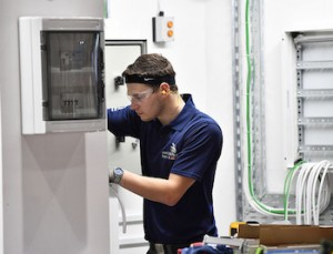 Matt Doe at WorldSkills