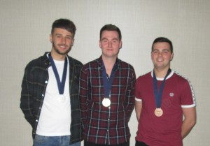 Top three competitors