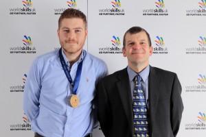 Rhys Boni gold medal